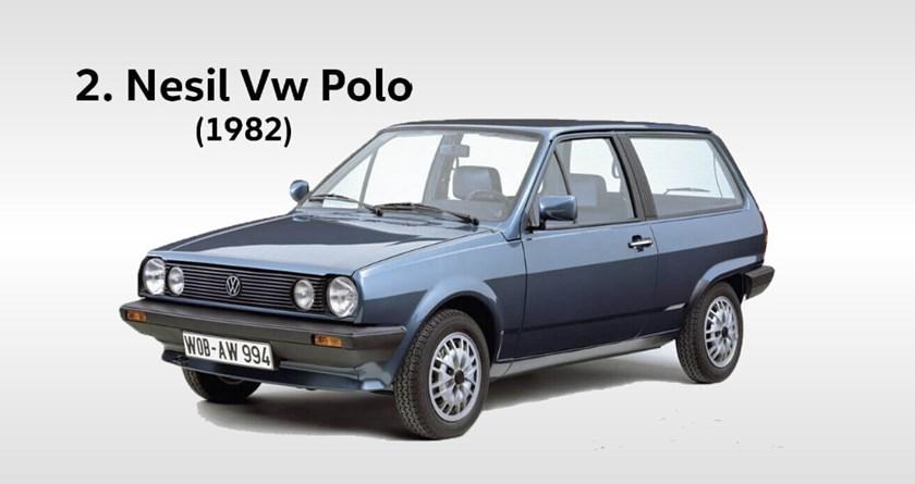volkswagen polo 2 yılları hangileridir. Kasa değişimi ne zaman oldu?