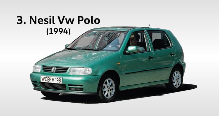 volkswagen polo 3 yılları hangileridir. Kasa değişimi ne zaman oldu?
