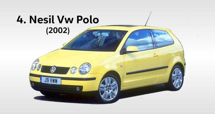 volkswagen polo 4 yılları hangileridir. Kasa değişimi ne zaman oldu?