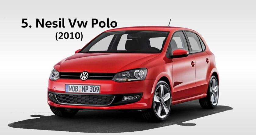 volkswagen polo 5 yılları hangileridir. Kasa değişimi ne zaman oldu?